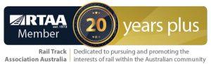 Gemco Rail RTAA 20 Year Membership